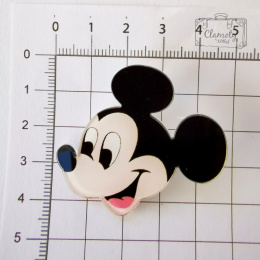 MOUSE MOUSE BUTTON SMILING HEAD BUTON PIN